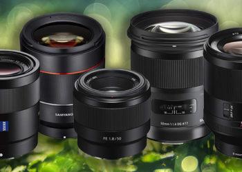 5 mejores objetivos 50mm para Sony